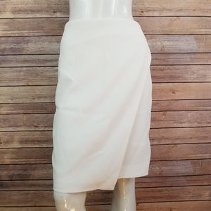 White House Black Market Cross Front Skirt